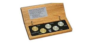 ボーイング規格準拠 導電率試験片 5個セット